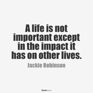 a life is not important